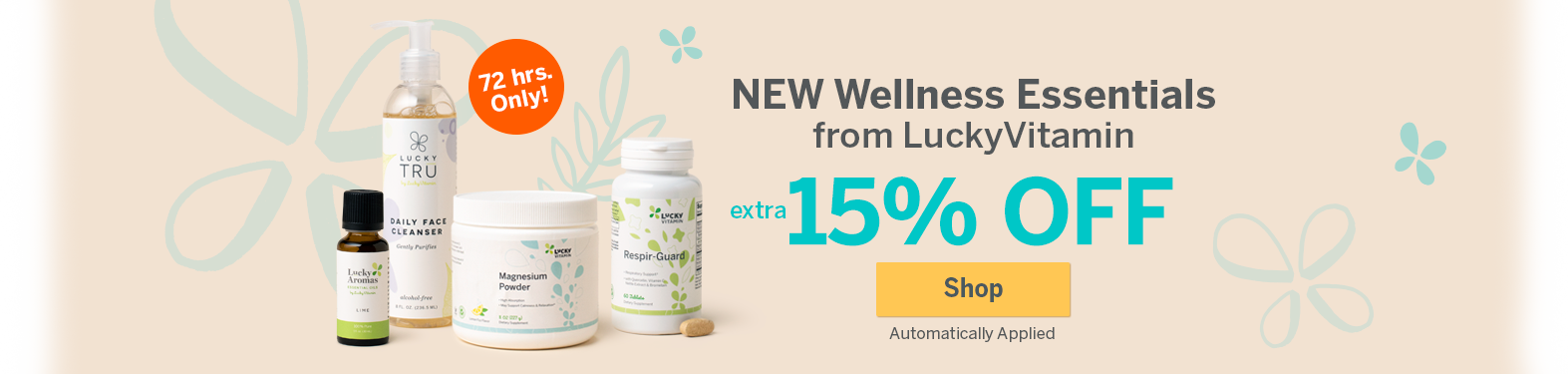 New Lucky Wellnesss Essentials Sale